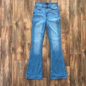 Forever 21 Womens Jeans Premium Denim Jean Flare